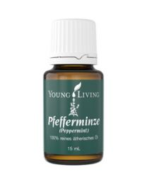 Pfefferminze (Peppermint), 100 % reines ätherisches Öl, 15 ml